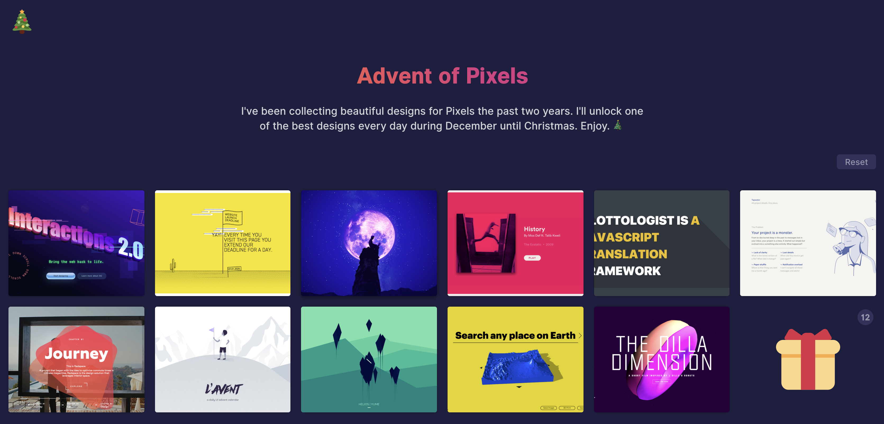 How I Made Advent of Pixels